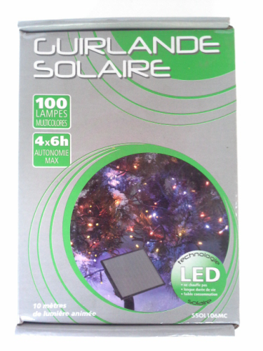 GUIRLANDE SOLAIRE 100LED
